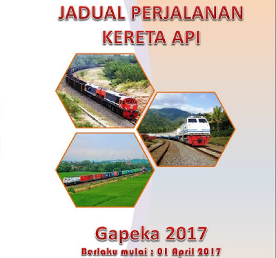 Jadwal Perjalanan Keret Api Terbaru Tahun 2017