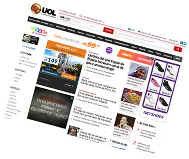 e171709276d8a Em 1997, com a internet crescendo vertiginosamente, o UOL continuou  investindo pesado no mercado, criando novos fóruns com grupos de discussão  e enquetes, ...
