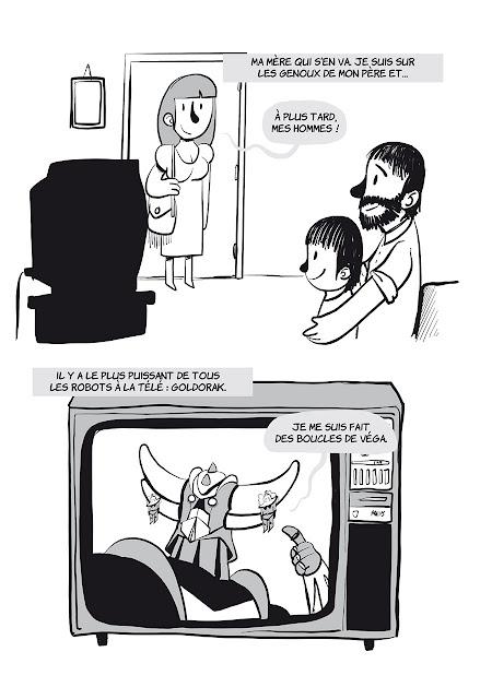 """page """"Davy Mourier vs la télévision"""" de Davy Mourier chez Delcourt"""