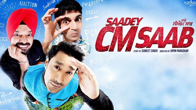 Saadey CM Saab (2016) Punjabi Movie 720p BluRay Download