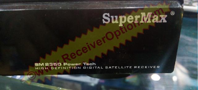 SUPERMAX SM 2350 POWER TECH HD RECEIVER ORIGINAL DUMP FILE