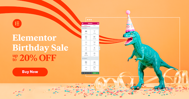 Elementor Birthday SALE