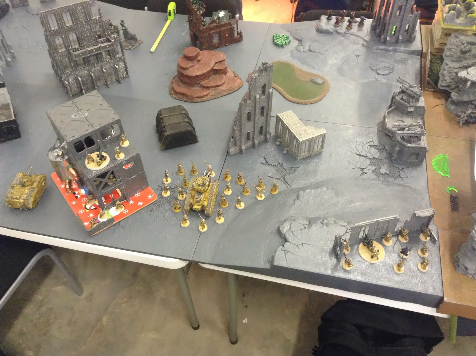 The Responsible One's Wargaming Blog: 1,500 point battle ...