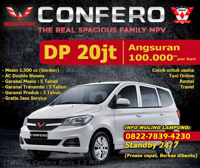 Info Mobil Wuling Lampung DISINI https://mobilwulinglampung.blogspot.com/