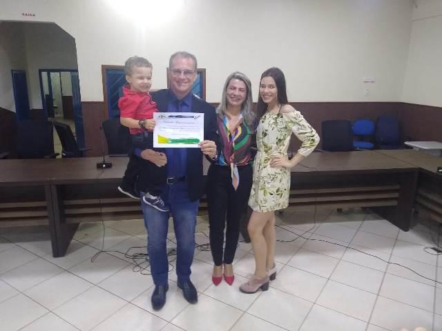 Secretário Regional do Governo de Rondônia Coronel Derzete é homenageado pela Câmara Municipal
