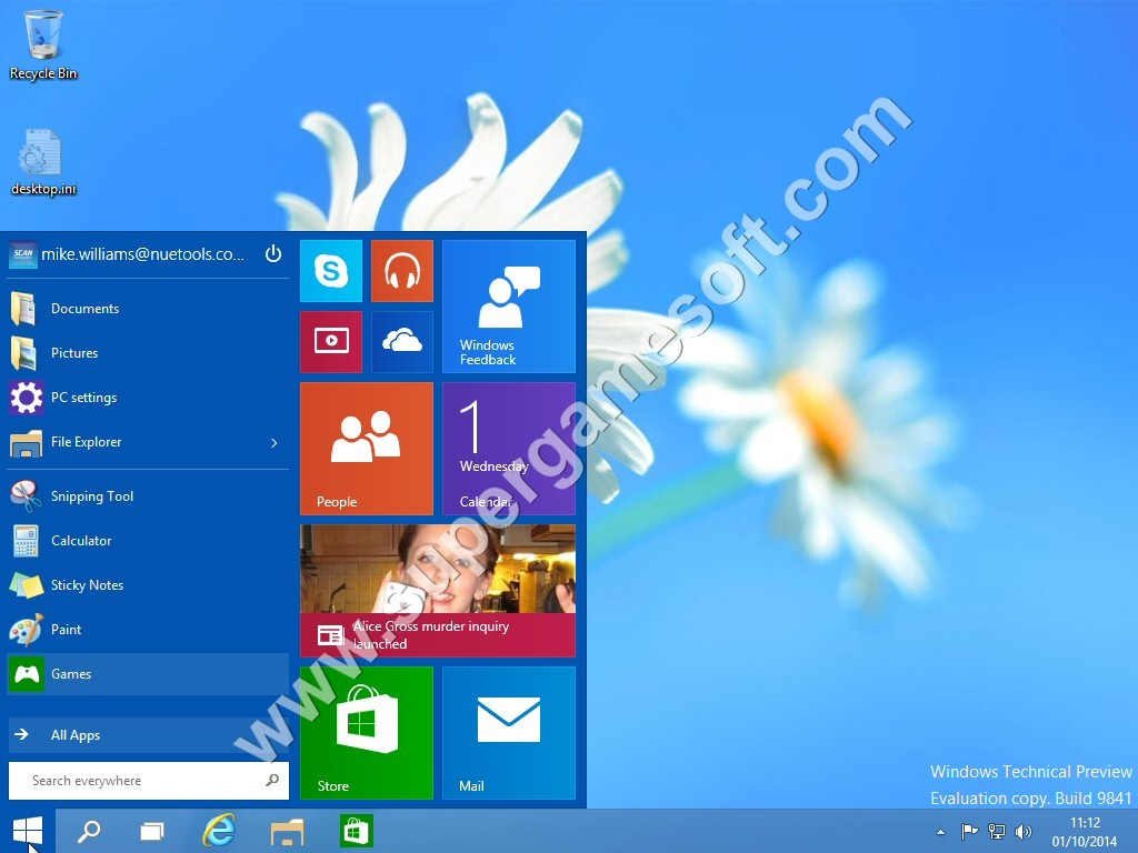 Windows 10 Technical Preview Free Download ISO