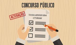 IFPB realiza alterações no cronograma do concurso público