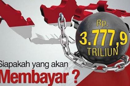 Utang RI Mendekati Rp. 4000 Triliun, Gerindra: Pemerintahan Jokowi Kondisi Kritis
