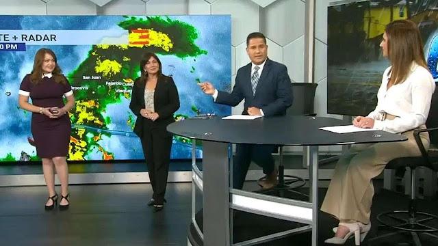 Futuros meteorólogos en Puerto Rico