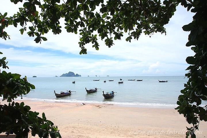 Синее море на Ао Нанг