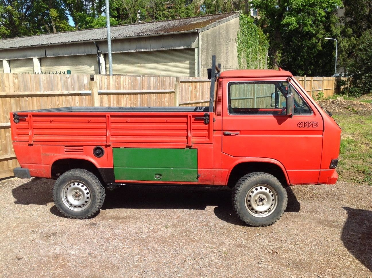 Vw T Syncro Single Cab