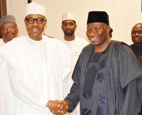 Buhari, Goodluck Jonathan, 042express