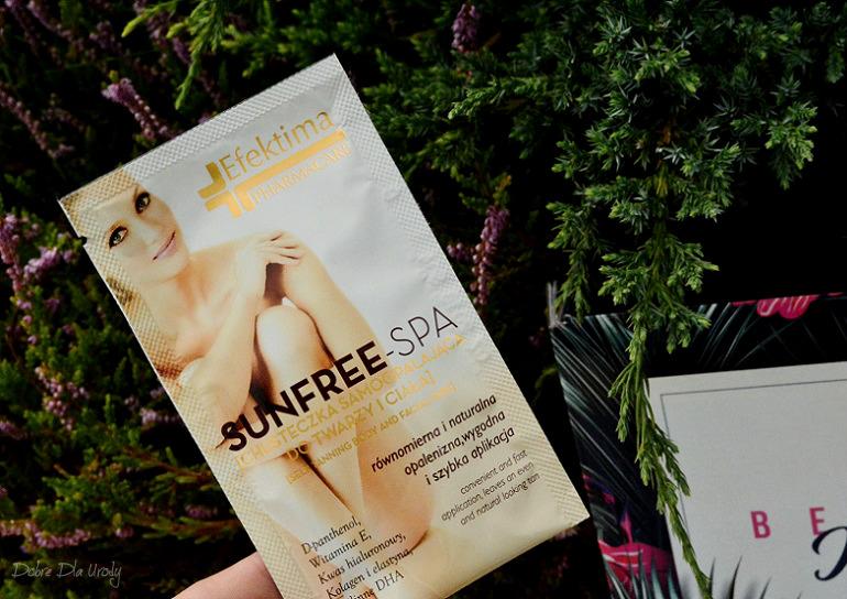 Efektima Sunfree-Spa Chusteczka Samoopalająca do twarzy i ciała