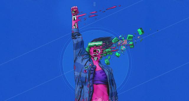 Wallpaper-in-HD-quality-Cyberpunk 2077-animation