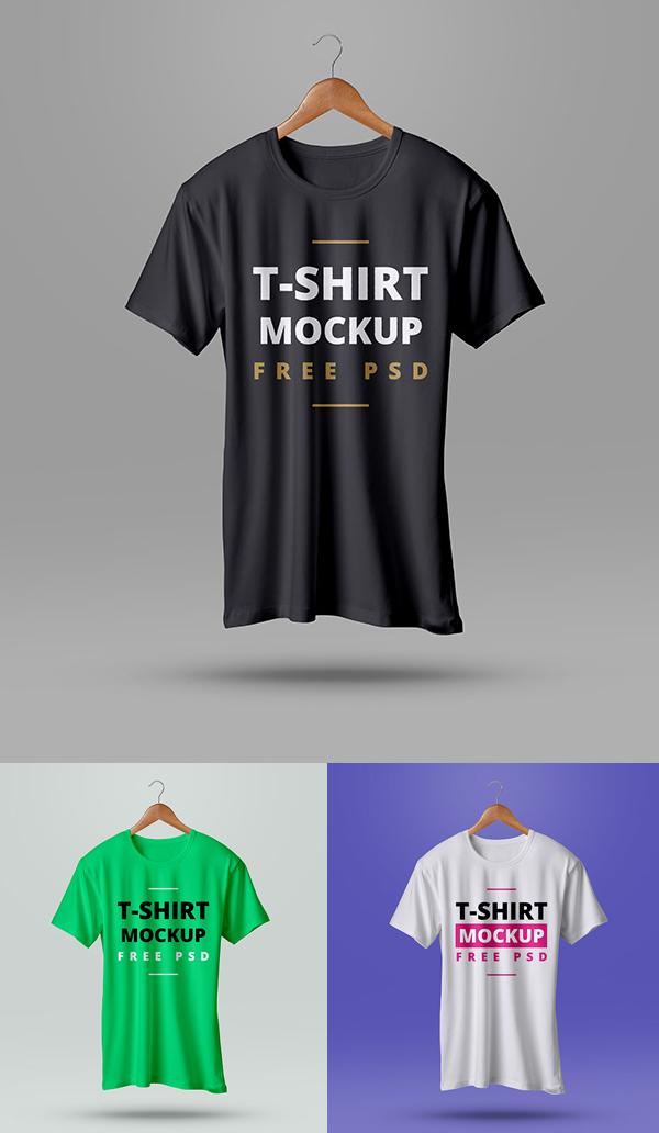 Free High Quality T Shirt Mockup PSD Freebies PSD