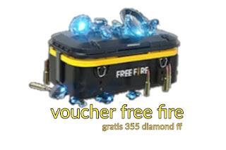 Cara Mendapatkan Voucher Bonus FF 355 Diamond Fee Fire