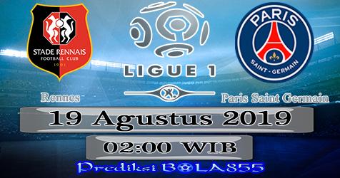 Prediksi Bola855 Rennes vs Paris Saint Germain 19 Agustus 2019