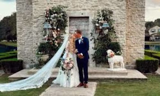 Cameron Champ And Jessica On Their Wedding Day