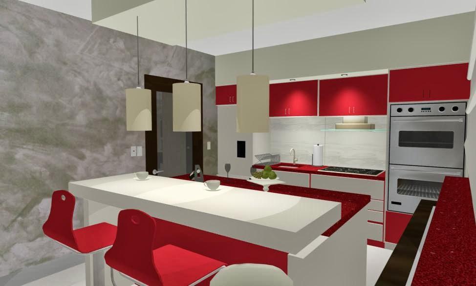 Design Interior - Amenajari Interioare - Arhitect / Design interior bucatarie casa Constanta