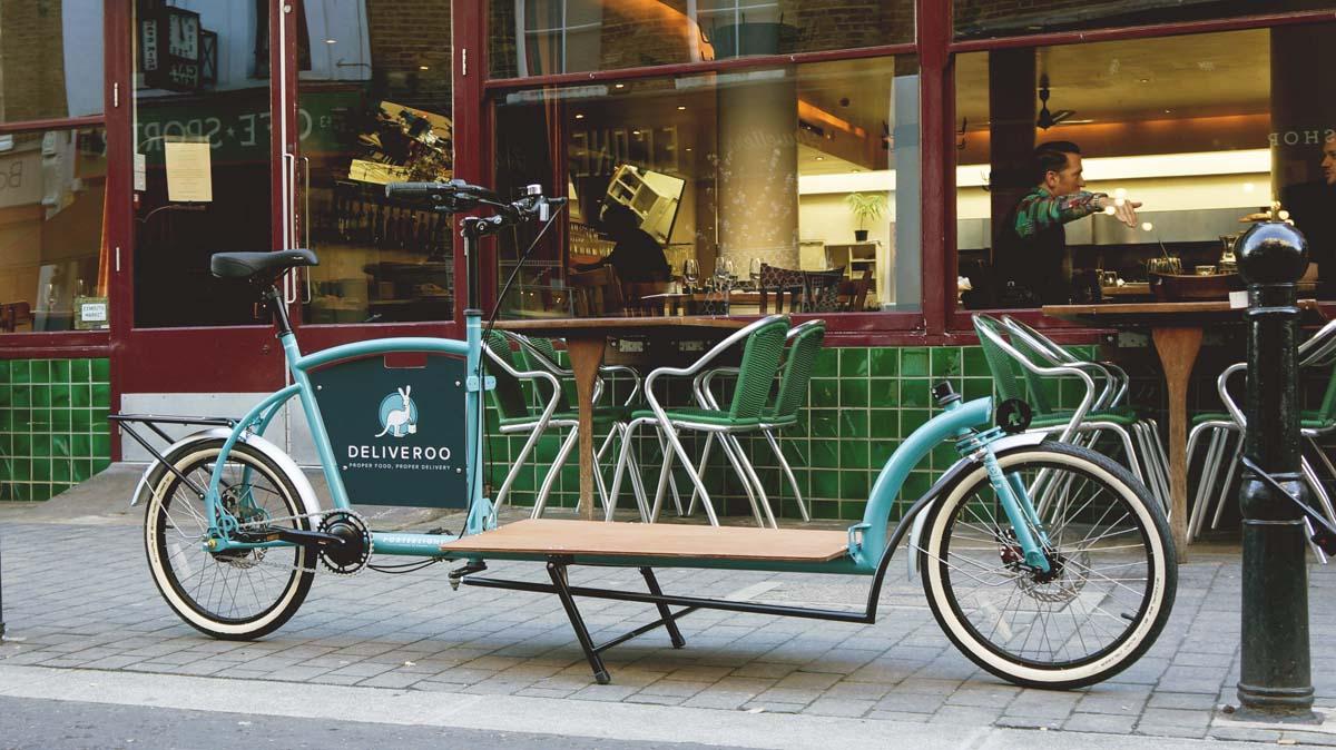 The Bicycle Safari Porterlight Bicycles X Deliveroo