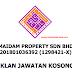 JAWATAN KOSONG DI MAIDAM PROPERTY SDN BHD