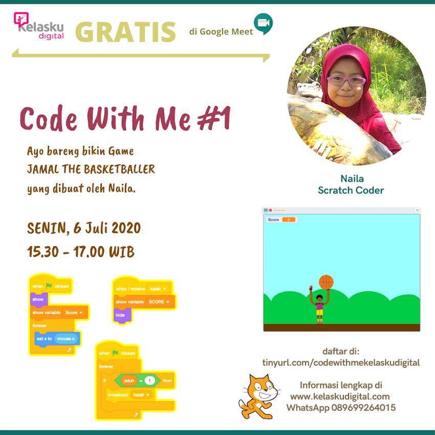 Code With Me #1 Bersama Naila