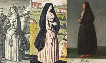 Capotes e capelos açorianos século XVIII