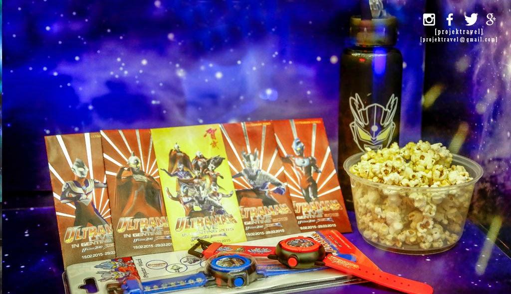 Pelbagai barangan eklusif bertemakan Ultraman