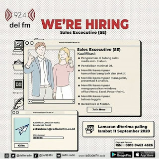 Sales Executive di PT Del Citra Mandiri