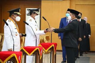 Robert Simbolon Dilantik jadi Pj Gubernur Bengkulu