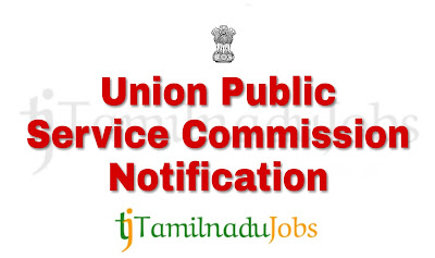 UPSC notification of 2018, govt job for graduates