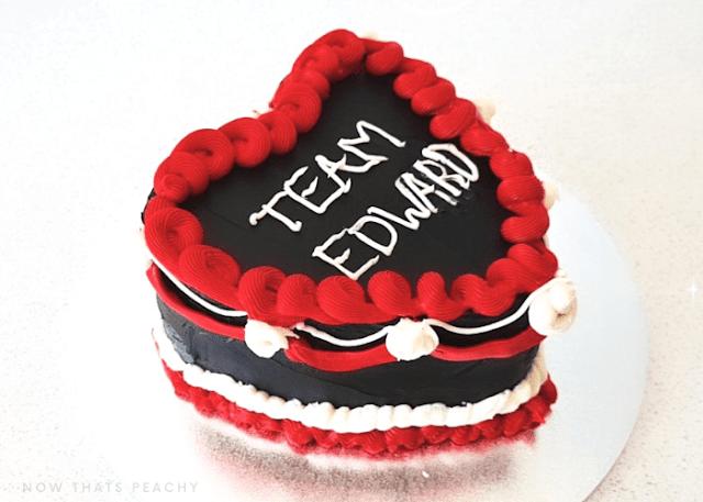 Twilight Vintage Buttercream Birthday Halloween Cake DIY design inspo