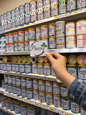 Sữa NAN Nga chính hãng xách tay từ Nga [Clip lấy hàng cho khách]