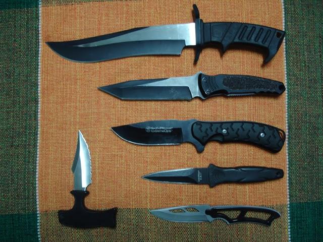 Armas do Kali - Facas diversos modelos
