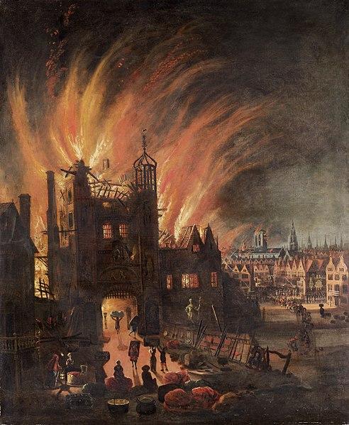 [Viajando na História] O mês de Setembro na História - Grande Incêndio de Londres