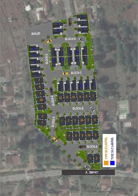 Perumahan Cluster Alsagriya Cilame Ngamprah Bandung Barat