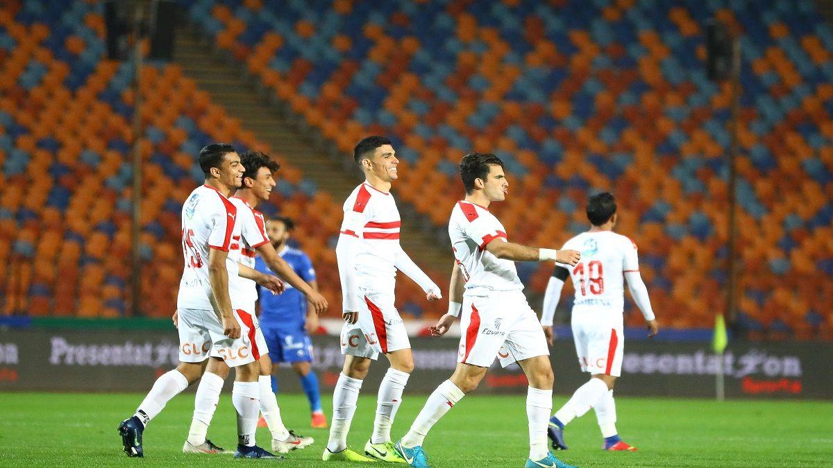 نتيجة مباراة الزمالك وطنطا بتاريخ 05-01-2020 الدوري المصري