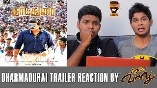 Dharmadurai – Trailer Reaction   Rettavaalu   Smile Mixture