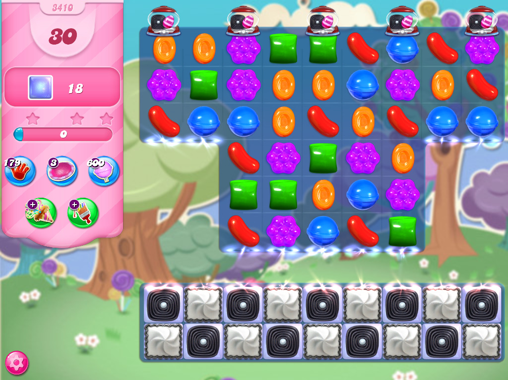 Candy Crush Saga level 3410