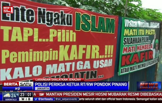 Jakarta Puncaki Daftar Kota Paling Intoleran di Indonesia