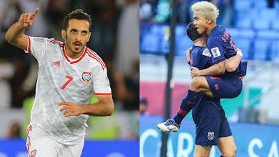 مشاهدة مباراة الإمارات وتايلاند بث مباشر اليوم 15-10-2019 في تصفيات كاس العالم