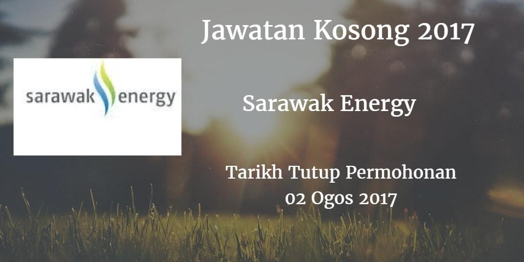 Jawatan Kosong Sarawak Energy 02 Ogos 2017