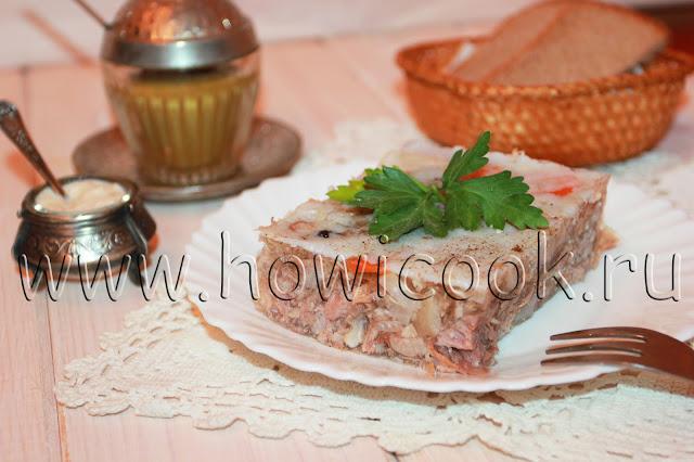 рецепт вкусного мясного холодца