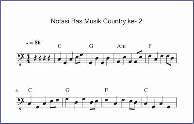 gambar bas musik country 2