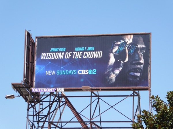 Wisdom of the Crowd season 1 billboard
