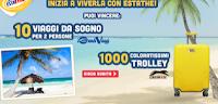 Logo Voglia d'estate e vinci 1.000 trolley e 10 viaggi da sogno