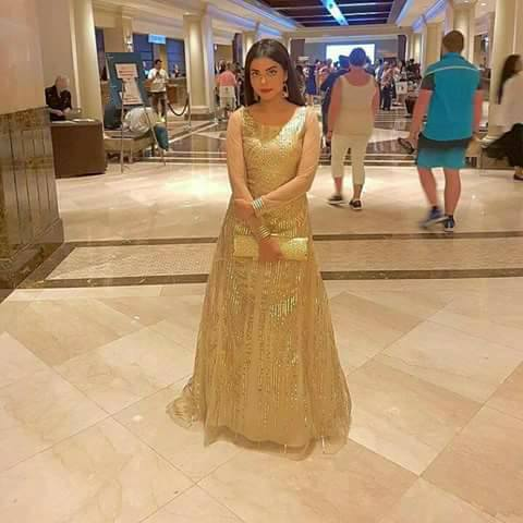 IFFA Awards 2017 Celebrities pics Morning show host Nida Yasir At  Iffa Awards 2017,NIDA YASIR looking Gorges.
