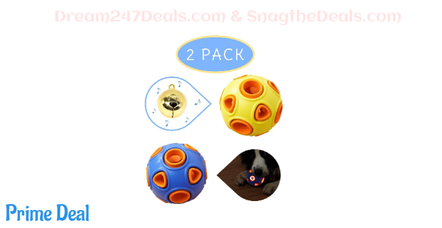 55% off Interactive Dog Toy Ball--2 pack