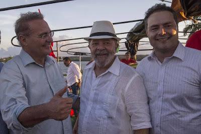 Lula e Renan, juntos desde sempre