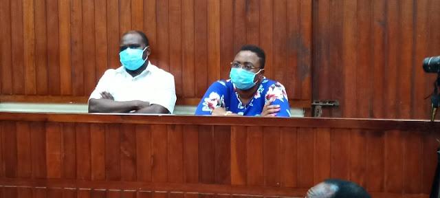 Malindi MP Aisha Jumwa in Police cells